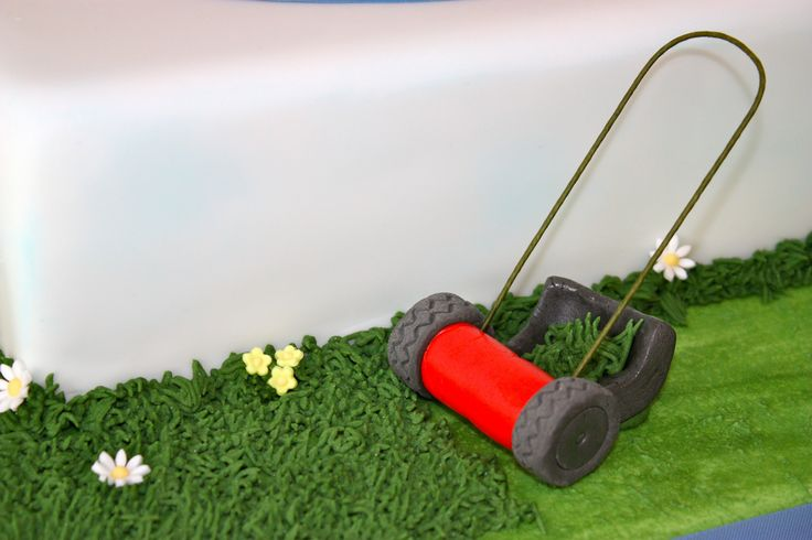 {Fun Reel Mower with Grass Catcher featured on ConsumedbyCake's photos}