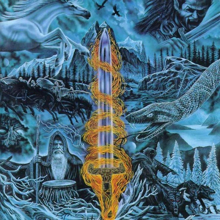 Bathory - Blood On Ice (1996)