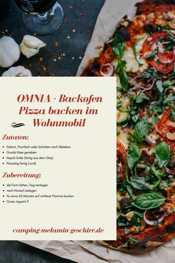 Pizza backen im Wohnmobil: OMNIA Backofen