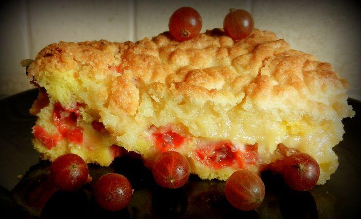Ciasto agrestowe z kruszonką...