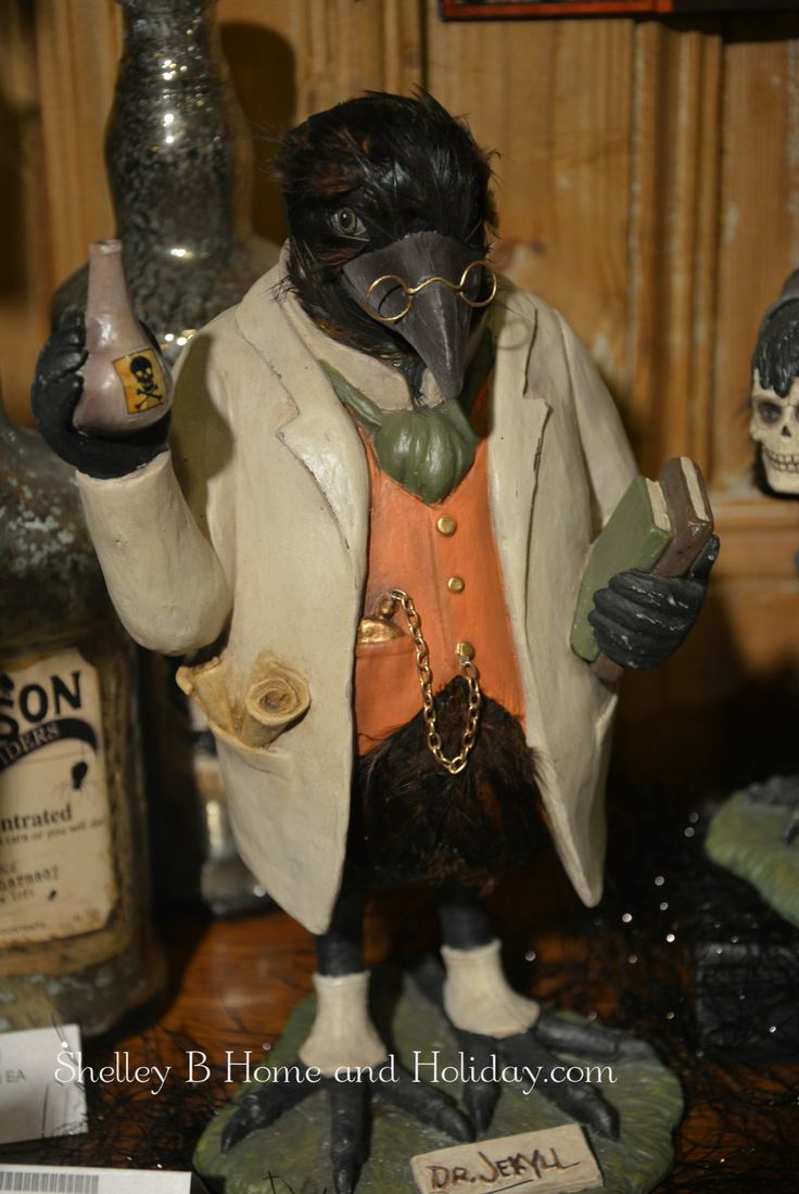 dr jekyll halloween figure by bethany lowe unique vintageart styleshalloween decorationsthe - Vintage Style Halloween Decorations