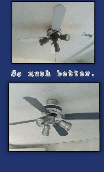 A Ceiling Fan Fit For A Dallas Cowboys Room.