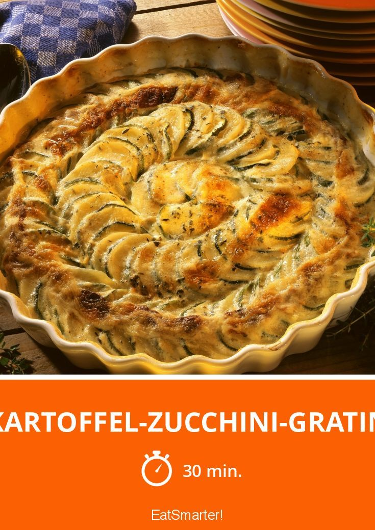 Kartoffel-Zucchini-Gratin - smarter - Zeit: 30 Min.   eatsmarter.de