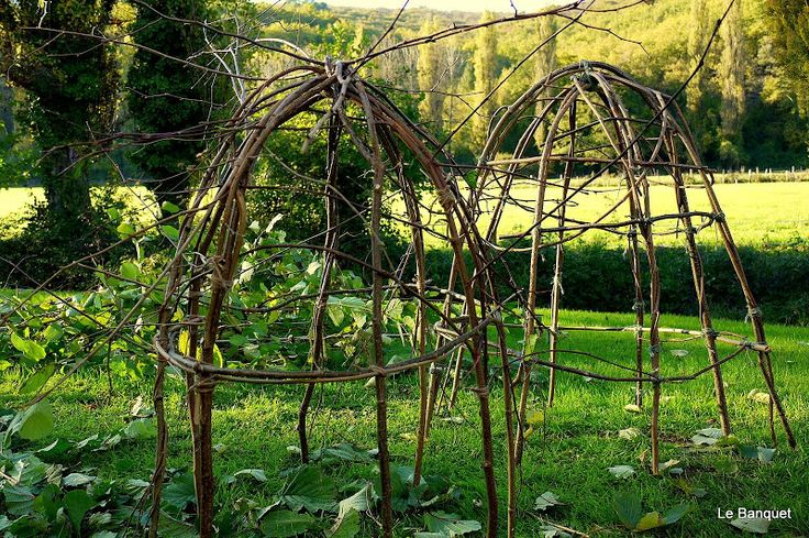 How to make hazel rose domes like those in Arne Maynards 2012 Chelsea garden