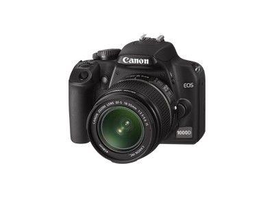 Appareils photos numériques CANON EOS 1000D + 18-55iS d'occasion