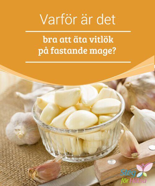 Varför är det bra att äta vitlök på fastande mage?  Det finns för #närvarande många olika #åsikter när det #kommer till att äta vitlök på #fastande mage.