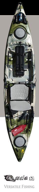 Fishing Kayak: Cuda 12, Sit On Top Kayak, Tandem Kayak, Angler Kayak | Jackson Kayak Jackson Kayak – Whitewater Kayaks, Fishing Kayaks, Recr...