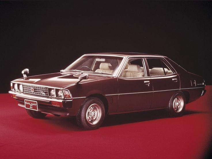 Mitsubishi galant sigma 1976-1978