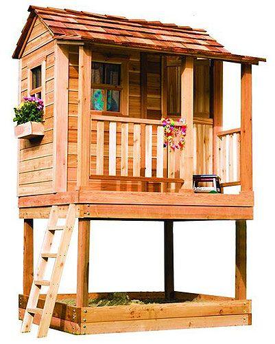 Дачный домик для игр детей
