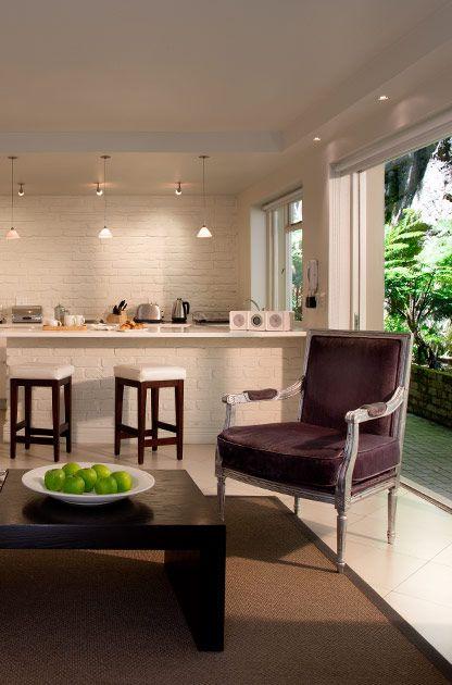 More Quarters Private Lounge #MoreQuarters #LuxuryAccommodationCapeTown