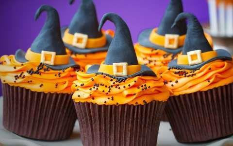 Halloween-i muffin