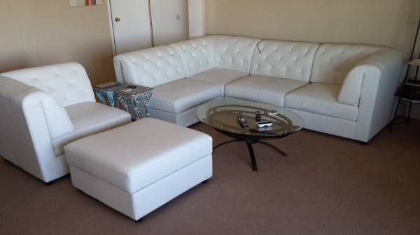 Leather Sofa Chair Ottoman Sf Craigslist Furniture