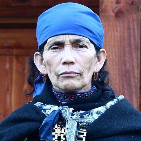 Francisca Linconao, machi de Rahue.