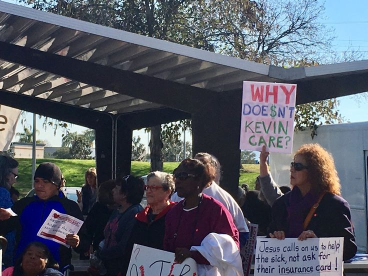 The crowd of hundreds was ready to march, windinga circuitous route from a Bakersfield park to the nearby district office of Rep. Kevin McCarthy to rally in support of the Affordable Care Act . But before they hoisted their signs and joined in healthcare-themed chants, there was a quick geographic roll call.