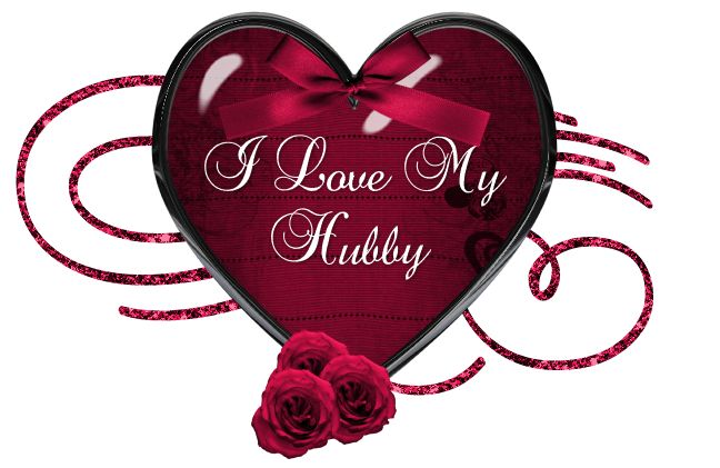 I Love My Hubby love heart marriage love quote husband valentine's day hubby