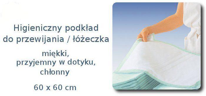 Podkłady łóżko podkład przewijania 60x60 szpitala (5815904616) - Allegro.pl - Więcej niż aukcje.