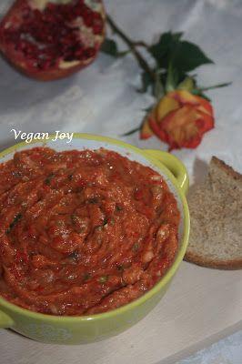 vegan joy: A different eggplant (aubergine) salad