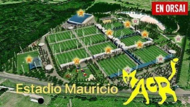 """EL NUEVO COMPLEJO DEPORTIVO QUE BOCA CONSTRUYE EN EZEIZA SE LLAMARA """"PRESIDENTE MACRI""""      El nuevo complejo deportivo que Boca construye en Ezeiza se llamará """"Presidente Macri""""Boca Juniors proyecta construir 12 canchas de fútbol -una techada- para que entrenen allí su equipo profesional y las divisiones juveniles. El nuevo predio que construye el club Boca Juniors en el partido de Ezeiza se convertirá en el primer emprendimiento que llevará la gracia del jefe de Estado. A decir verdad no…"""