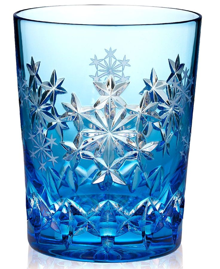 Waterford Drinkware, Snowflake Wishes for Goodwill Prestige Double Old Fashioned…