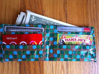 meremade: duct tape wallet.  Putting this in sewing so I can compare it to the tea wallet tutorials and maybe make a duct tape tea wallet.