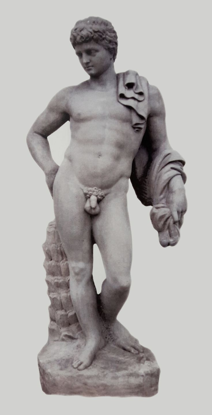 Mercury from the attic of the Wilanów Palace by Stefan Schwaner or Andreas Schlüter, ca. 1691, commissioned by John III Sobieski