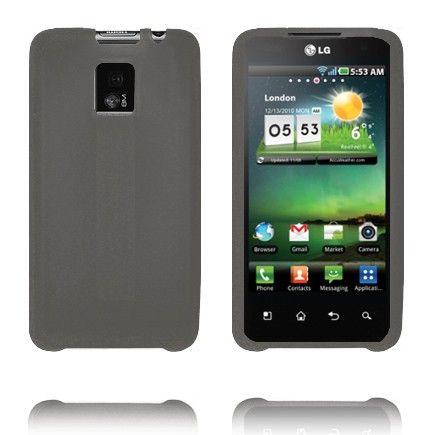 TPU Shell (Grå) LG Optimus 2X Deksel