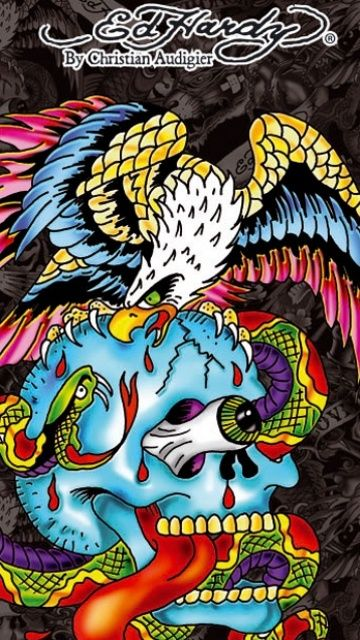 18 best imikimi 39 s e cards images on pinterest template - Ed hardy designs wallpaper ...