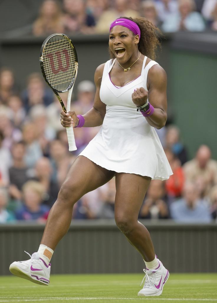 Serena Williams (Washington Kastles) on Day 8 of the 2012 Wimbledon Championships.
