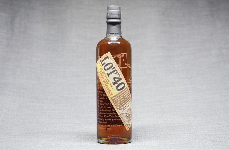 "🥃 - Rye For Life Lot No. 40 Canadian Rye Whisky ""Earthy, Woody, Velvety Vanilla"""