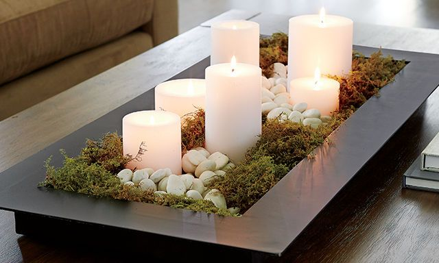 Candle Centerpiece Ideas|Crate and Barrel