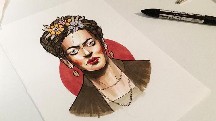 Frida disponible! En color o blanco y negro y con un precio chuli! 🌺🍂🌹🌸💐 Para citas, consultas o  saludar y decirnos cosas bonitas: 📍Calle Divino Pastor, 6 (Malasaña) MADRID 📩 tatuajeriacorazonsalvaje@gmail.com