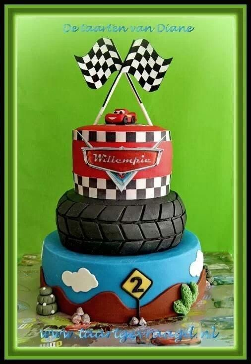 Cars ... with a little switching around, it could also become a NASCAR cake