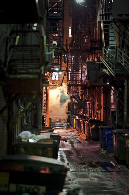 back alley in 2019 nothing or art cyberpunk street