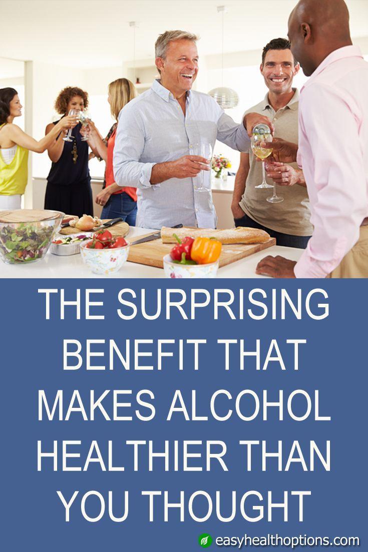 Der überraschende Vorteil, der Alkohol gesünder macht, als Sie dachten #alkoho… – Gesundheit und Gesundes Essen