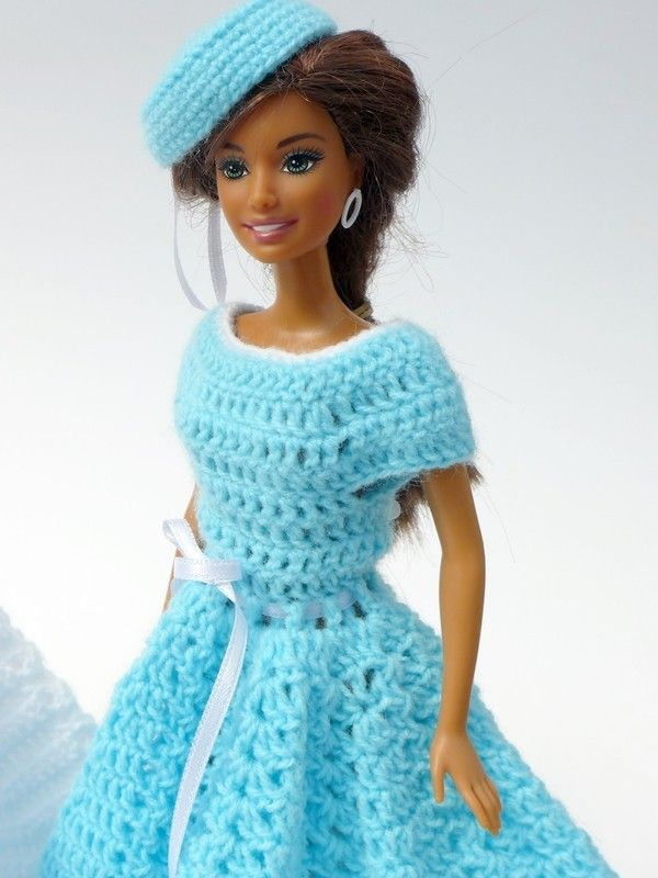 1476 best Crochet - Barbie Clothes images on Pinterest | Barbie ...