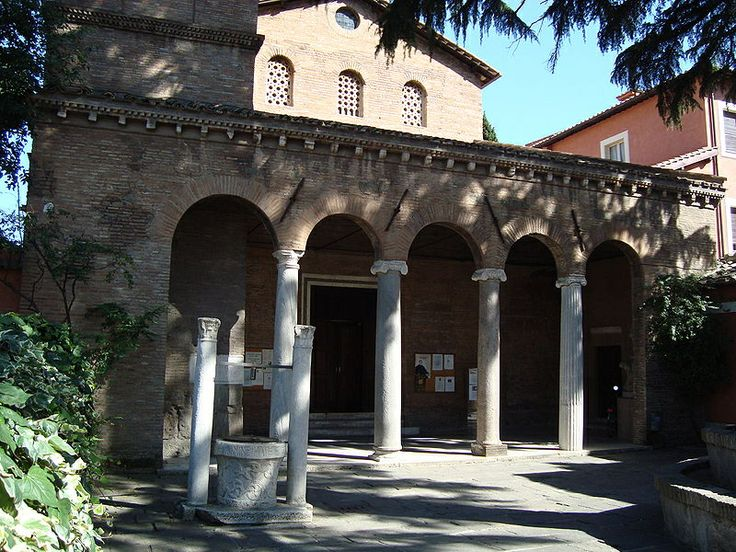 281 best images about station churches of rome on pinterest - S giovanni a porta latina ...
