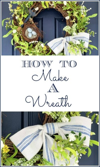 How To Make A Wreath - On Sutton Place