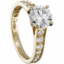 #StreetSTYLE He promised to put a Ring On iT ... My Baby Knows I'm not playing around Cartier 1895 ... Cuz I'm Worth IT!