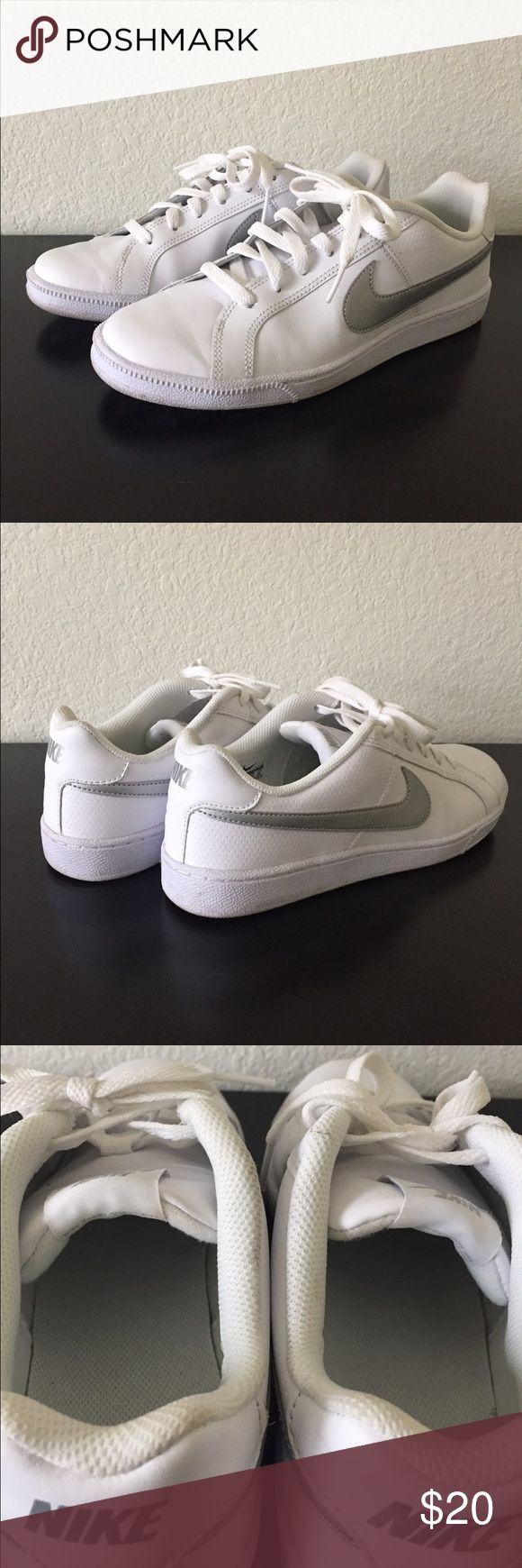 Nike street sneakers Nike street sneakers; size 9; no box. Worn twice. Great condition. Nike Shoes Sneakers