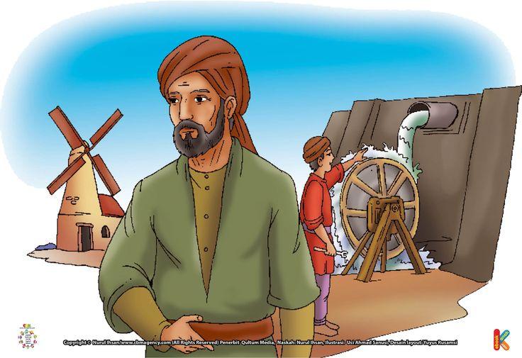 Al Jazari Bapak Teknik Mesin Modern