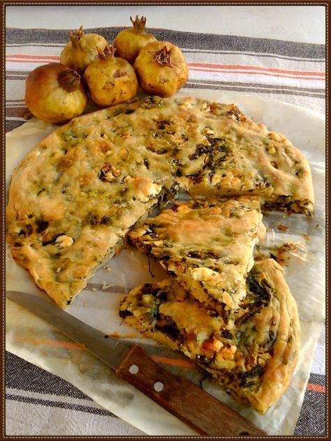 Βουτυρόμελο: Κολπατζού χορτόπιτα με φέτα