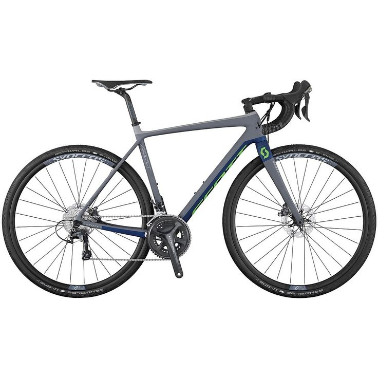 SCOTT ADDICT Gravel 20 Disc Ultegra HMF-Carbon Rennrad - 2017
