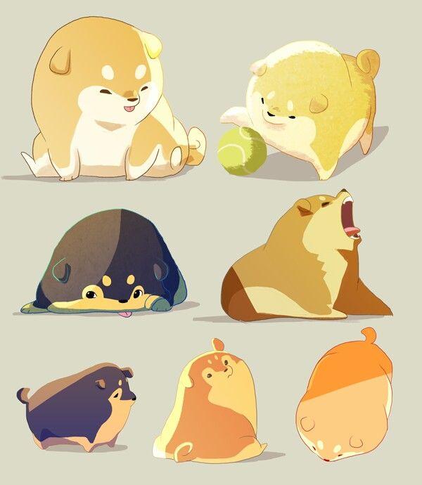 Fantastic Akita Chubby Adorable Dog - 4adf3242c67a192df2384a3fc45e56d1--cute-kawaii-drawings-kawaii-art  HD_423119  .jpg