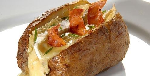Batata recheada com bacon!: Recipes For, Batata Recheada, 428 Por, Revenues, Recipes, Batata-Doc Recheada, De Batata, Culinary, Por Porção