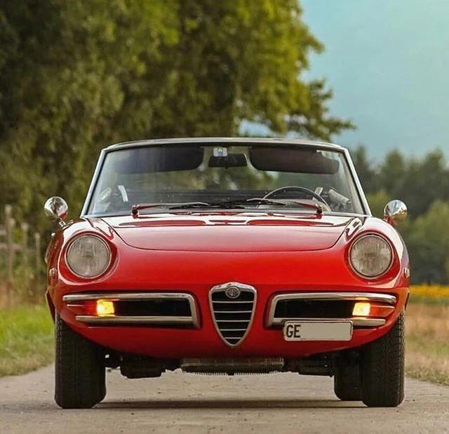 Photo: Beautiful Red Alfa Romeo