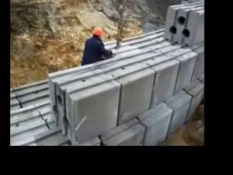 Muri di sostegno con Geobloc – Special Vibro
