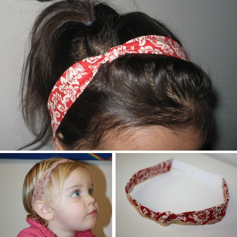 Fabric Knot Headband