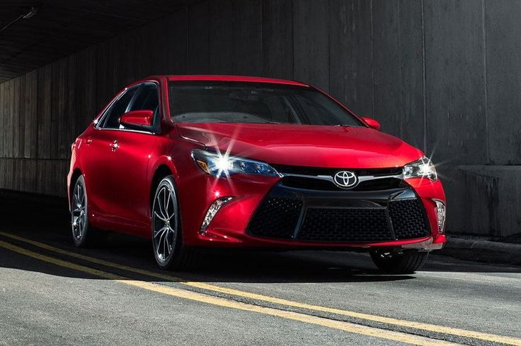 2015 Toyota Camry colors