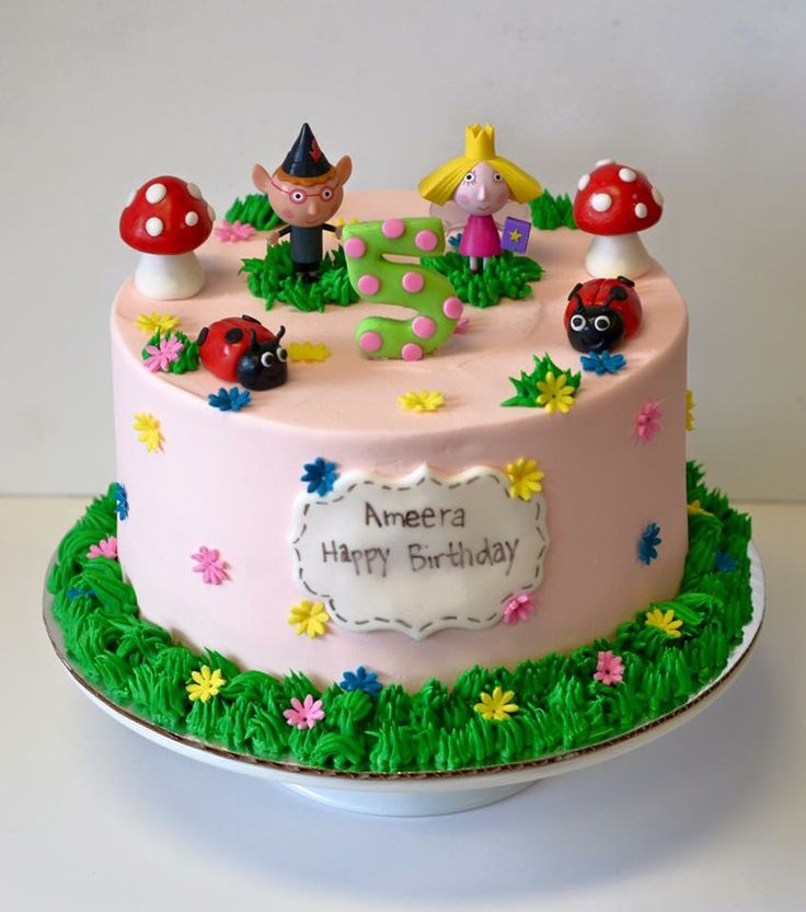 Cake Decoration Holly : 17+ best images about Ben & Holly theme on Pinterest ...