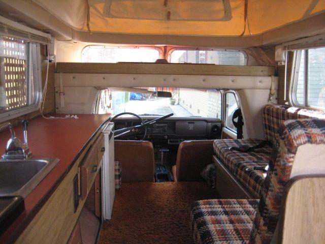 1976 Toyota Chinook Interior More